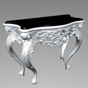 コーナーテーブル 3d model