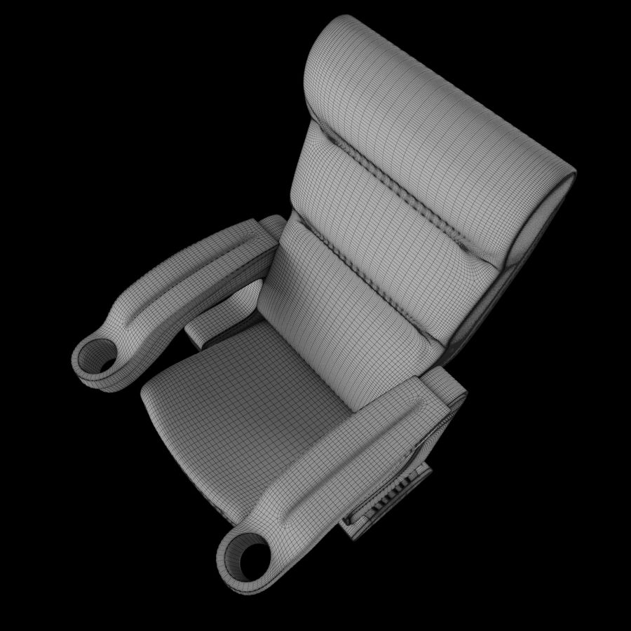 Cinema Chair royalty-free 3d model - Preview no. 11