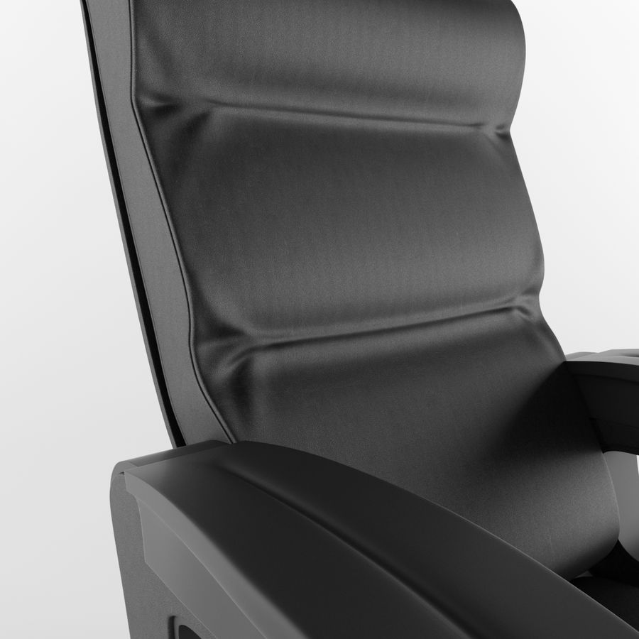 Cinema Chair royalty-free 3d model - Preview no. 7
