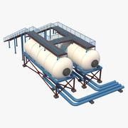 Silo industriale 3 3d model