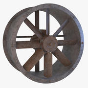 Rusted Axial Flow 3d model