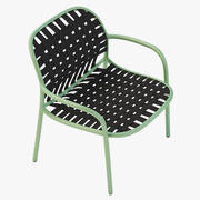 Fotorealistisk Emu Yard Outdoor Easy Chair 3d model