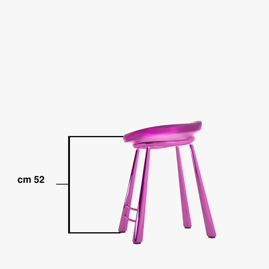 Bar Chair 001 royalty-free 3d model - Preview no. 12