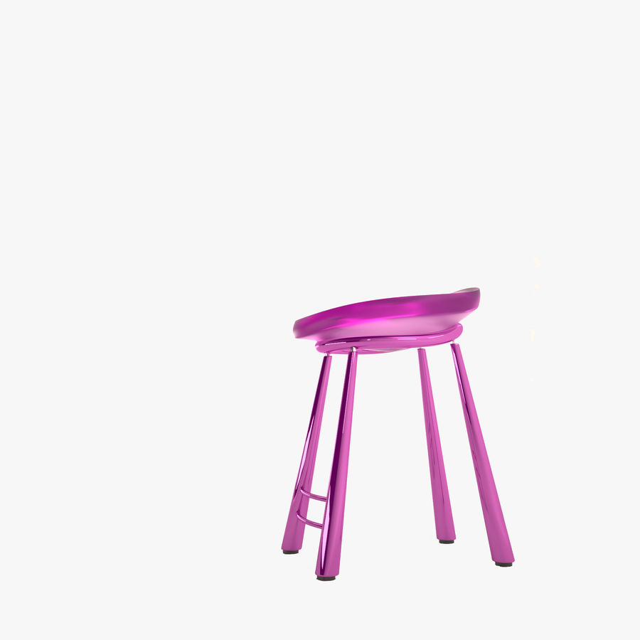 Bar Chair 001 royalty-free 3d model - Preview no. 1