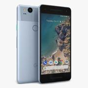 Google Pixel 2 Kinda Blue 3d model