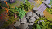 Fantasy MOBA - Pack actifs été et hiver 3d model