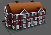 フラットハウス 3d model