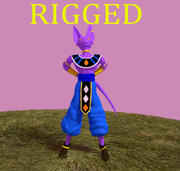 Lord Beerus truqué 3d model