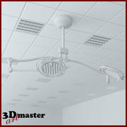 Medical Surgical LED lighting 3d model