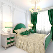 Chambre Emeraude 3d model