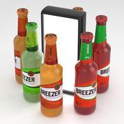 Breezer Green Lime 275ml-flessencollectie 3d model