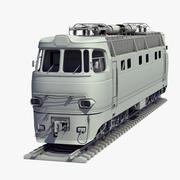 ChS4 Locomotive Untextured 3d model