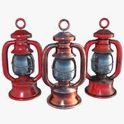 Stare lampy gazowe 3d model