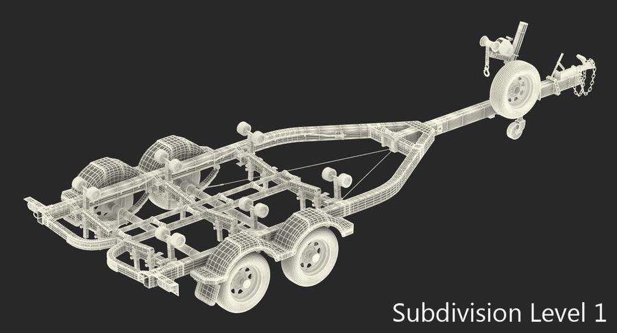 船用拖车 royalty-free 3d model - Preview no. 10