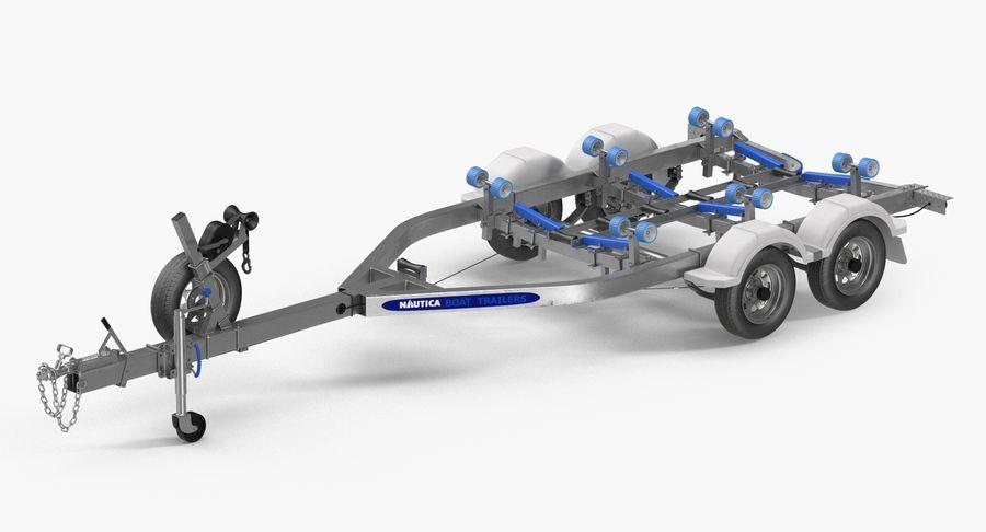 船用拖车 royalty-free 3d model - Preview no. 4