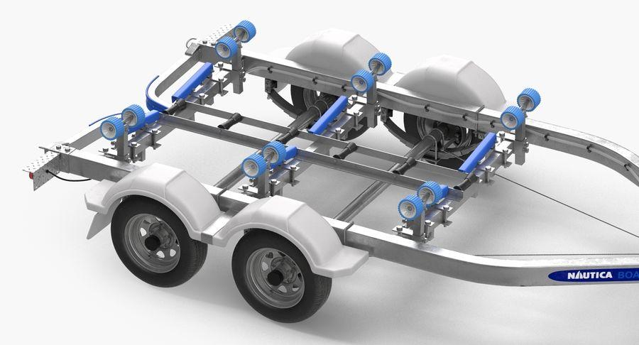 船用拖车 royalty-free 3d model - Preview no. 7