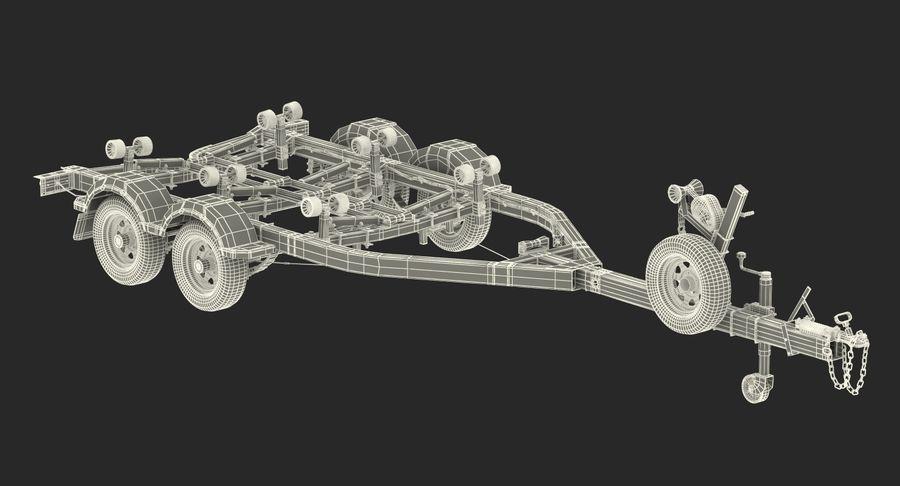 船用拖车 royalty-free 3d model - Preview no. 20