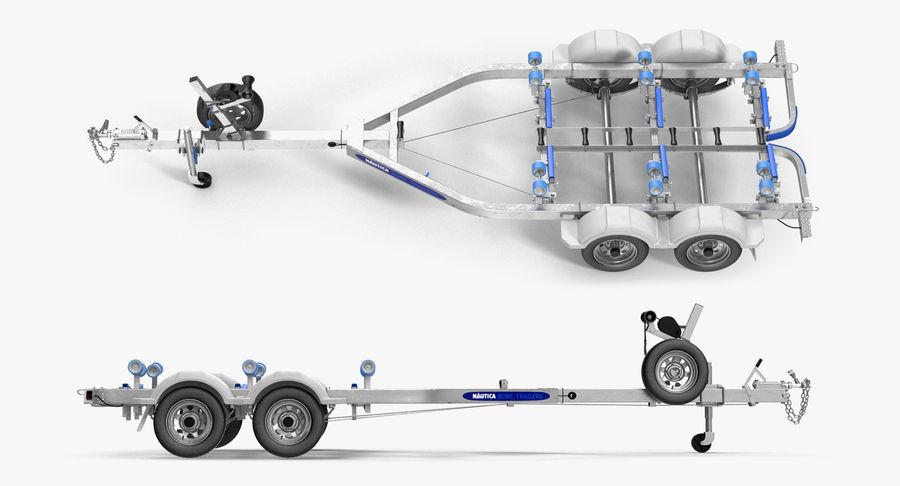 船用拖车 royalty-free 3d model - Preview no. 3