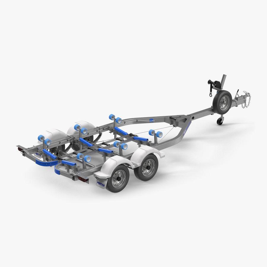船用拖车 royalty-free 3d model - Preview no. 1