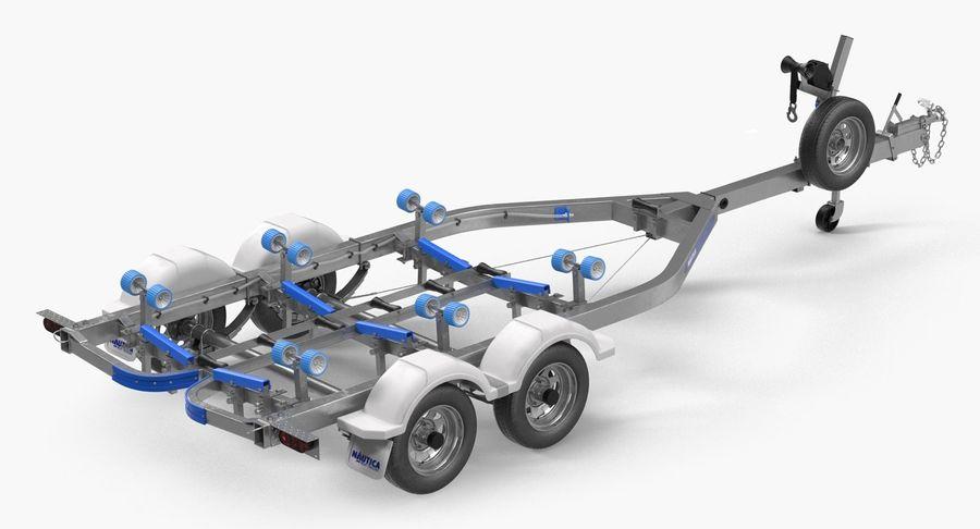 船用拖车 royalty-free 3d model - Preview no. 2