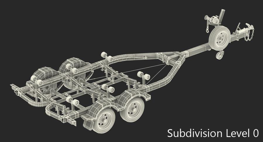船用拖车 royalty-free 3d model - Preview no. 9