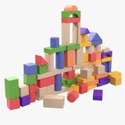 Baby Building Blocks 3d model