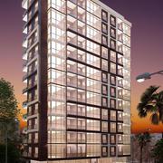 Apartamento Noite 12 Andares 3d model