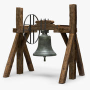 Wsparcie Church Bell 3d model