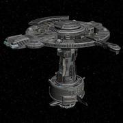 Ruimtestation 3d model