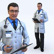 docteur mâle 3d model