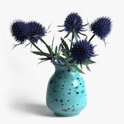 Эрингиум в вазе 3d model