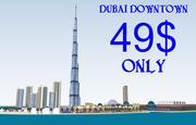 Dubai Downtown 3d model