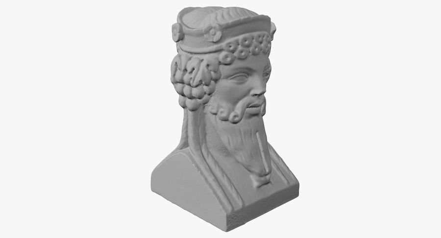 Büst royalty-free 3d model - Preview no. 24