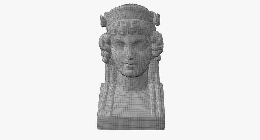 Büst royalty-free 3d model - Preview no. 47