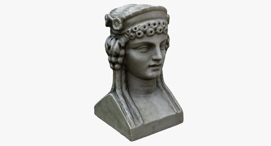 Büst royalty-free 3d model - Preview no. 8