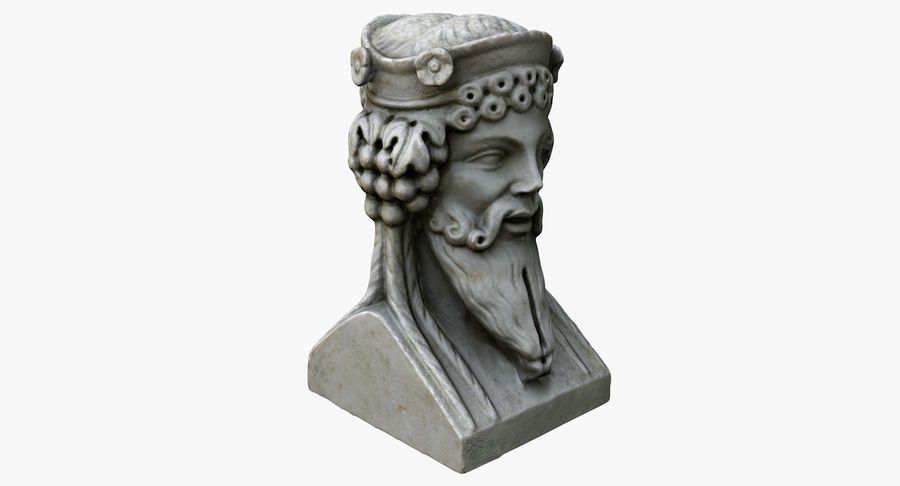 Büst royalty-free 3d model - Preview no. 4