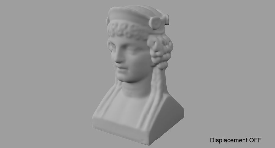 Büst royalty-free 3d model - Preview no. 63