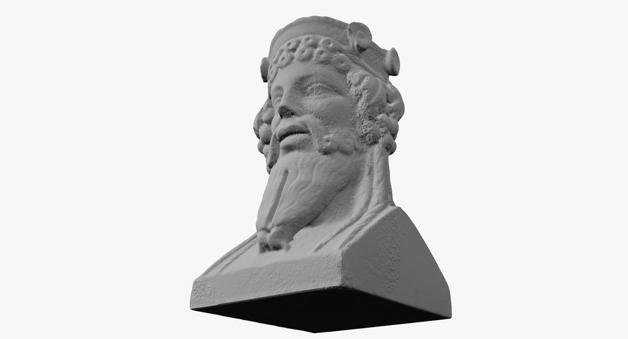 Büst royalty-free 3d model - Preview no. 38