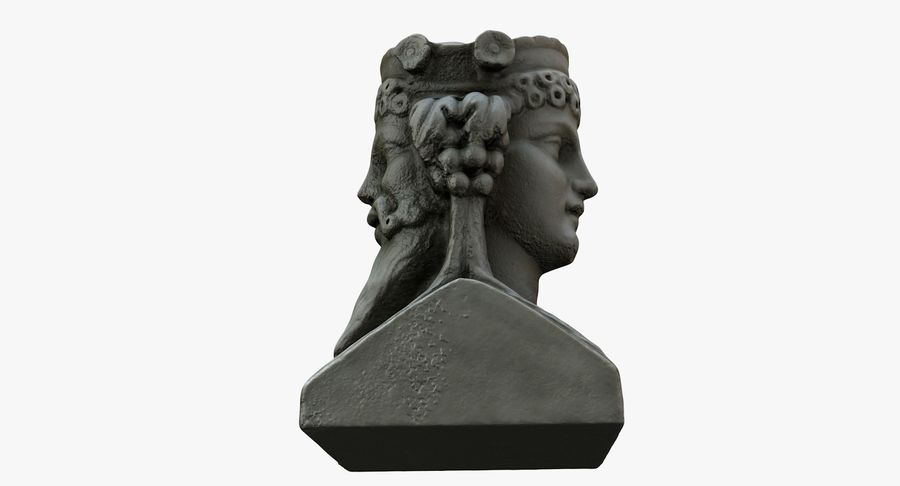 Büst royalty-free 3d model - Preview no. 17