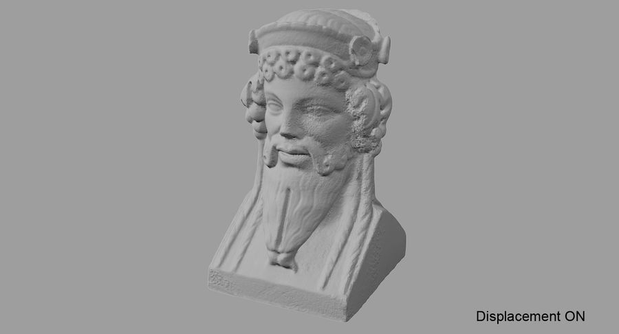Büst royalty-free 3d model - Preview no. 66