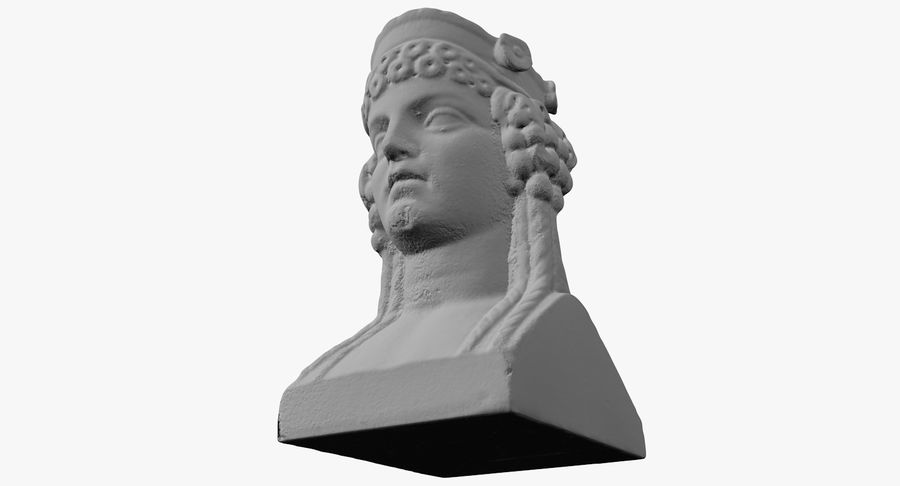 Büst royalty-free 3d model - Preview no. 36