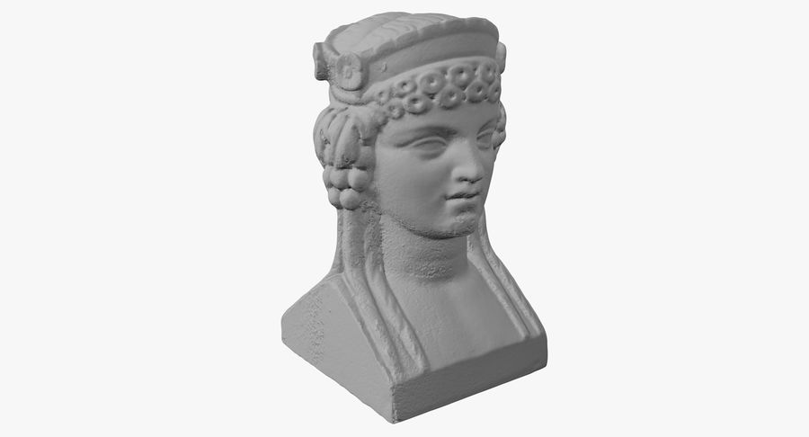 Büst royalty-free 3d model - Preview no. 28
