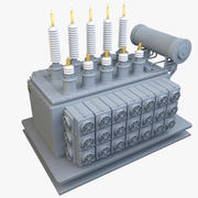 Power Transformer 3d model