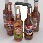 Garrafa de Cerveja Desperados 400ml Collection 3d model