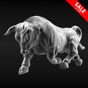 Bull Running 3d model