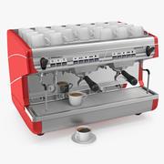 咖啡杯咖啡机 3d model