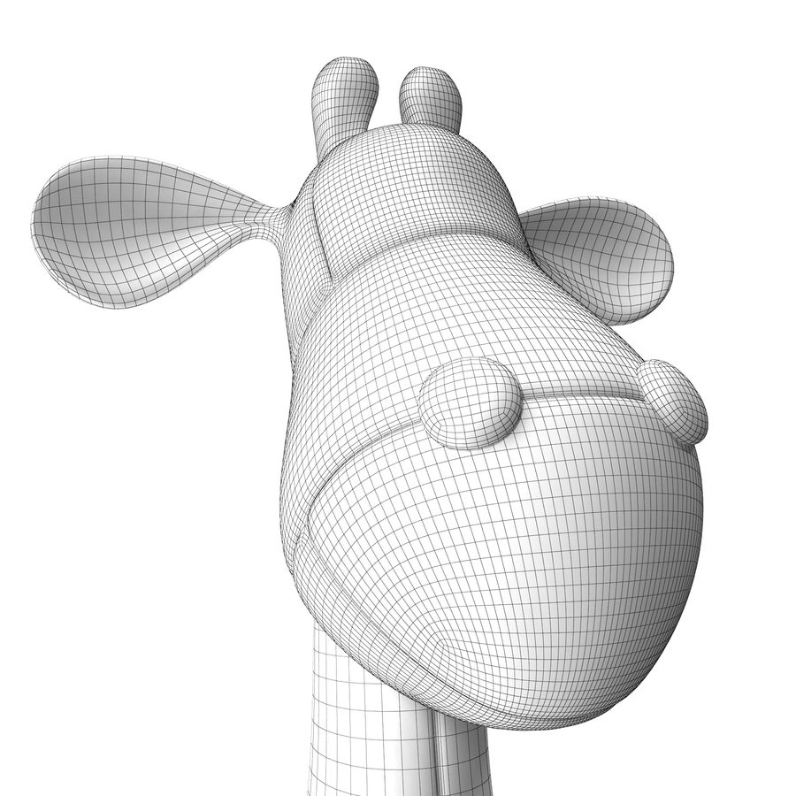 Giocattolo animale royalty-free 3d model - Preview no. 10