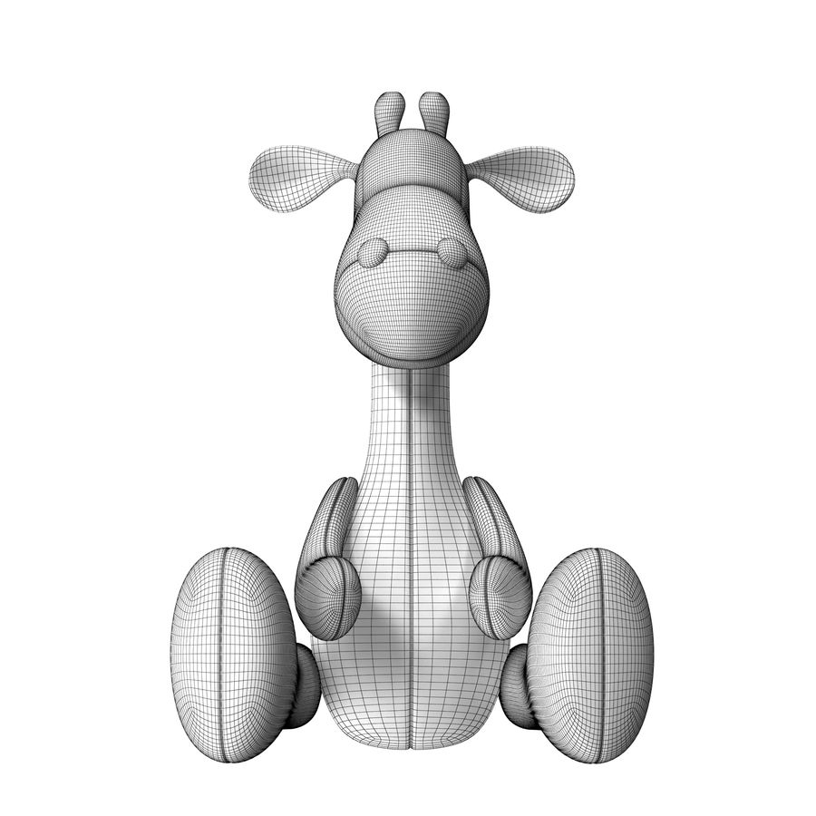 Juguete animal royalty-free modelo 3d - Preview no. 12