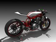 Concept Bike 3d model