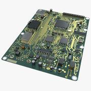 Leiterplatte 3d model